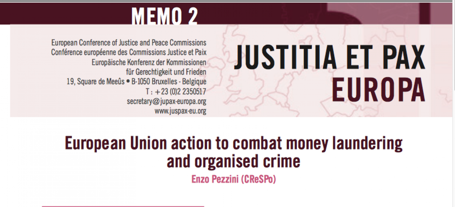 EU action to combat money laundering and organised crime